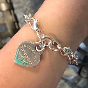 Tiffany charm bracelet pretty good condition